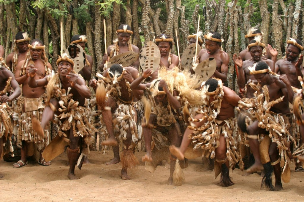 Zulu cultural dance
