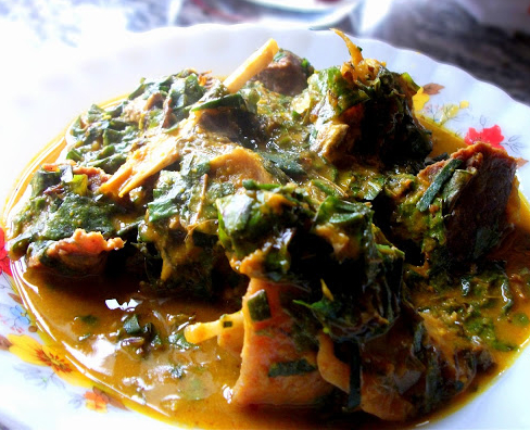 Cuisine Africana: Vegetable Soup: Oha
