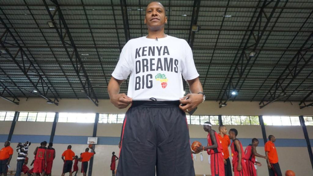 masai ujiri, basketball clinic in Kenya