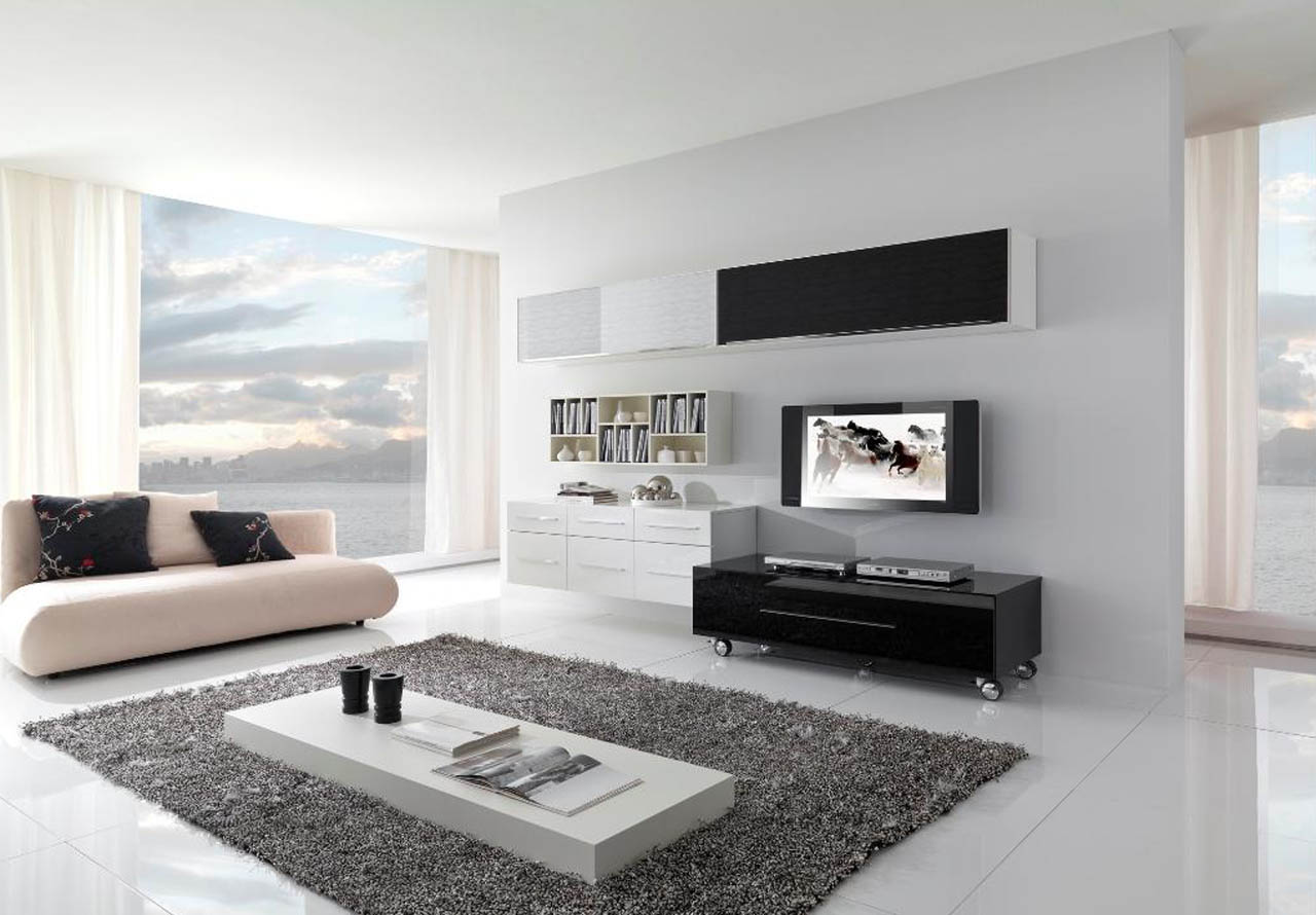 Homes: Illuminate Your Living Room with White Decor | Genesis ...