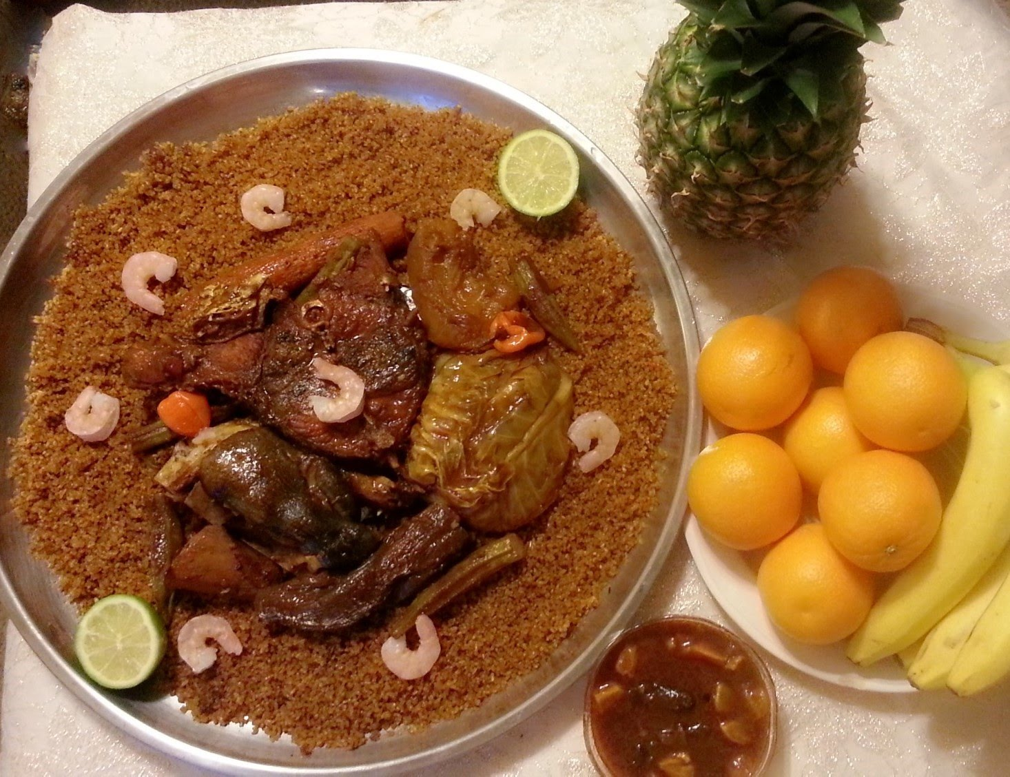 Cuisine africana senegalese thieboudienne genesis for Cuisine senegalaise