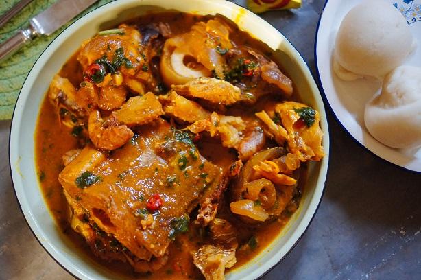 Cuisine Africana: Ogbono Soup