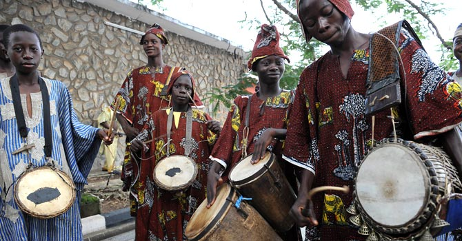 The African Talking Drum: the Beat goes On