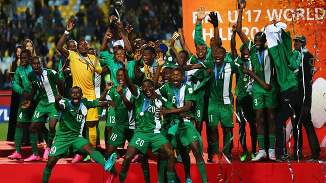 Sports: Nigeria Wins FIFA U17 Football tournament