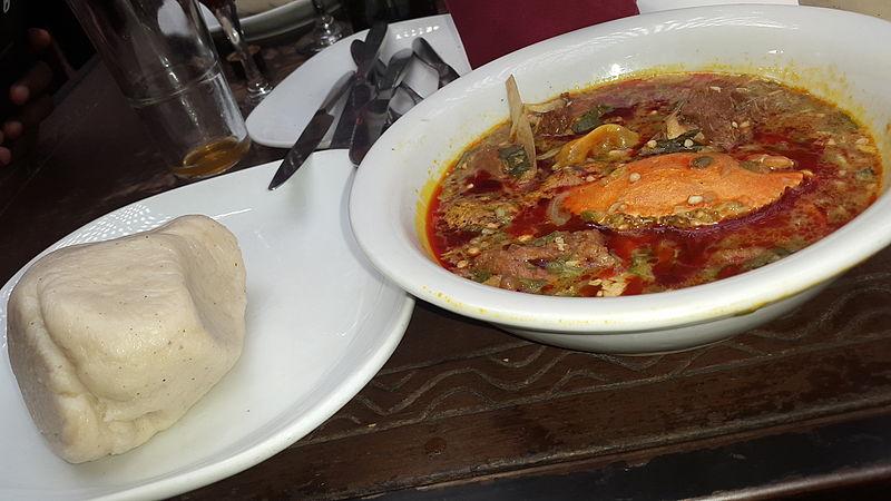 cuisine africana: Ghana's Banku with Okro Soup